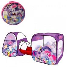 Детская двойная палатка с тоннелем My Little Pony M 3777