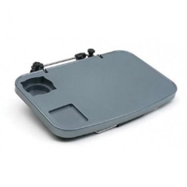 Автомобильный складной столик-подставка Multi Tray серый