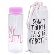 Бутылка для воды My Bottle в чехле Pink
