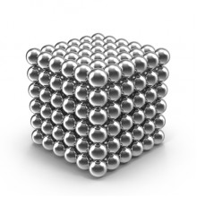 Конструктор-головоломка GTM Neocube 216 шариков Silver