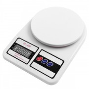 Весы кухонные Kitchen SF-400 7кг Белые