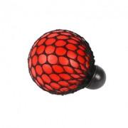 Мяч антистресс GTM Mesh Squishy Ball Red