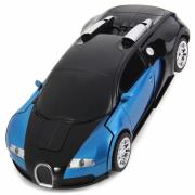 Машина-трансформер с пультом GTM Bugatti Veyron Blue