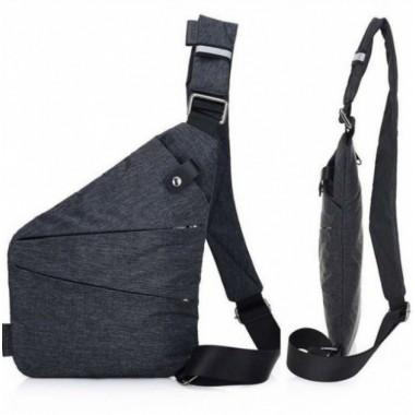 Мужская водонепроницаемая сумка Cross Body Black