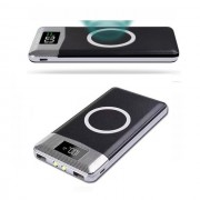 Беспроводное зарядное устройство Wireless Charger 10000 mAh Black