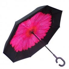 Зонт обратного сложения Vip-brella Георгин Розовый