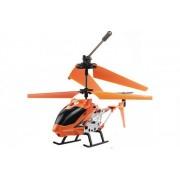 Вертолет на радиоуправлении Model King металлический корпус 23см Оранжевый