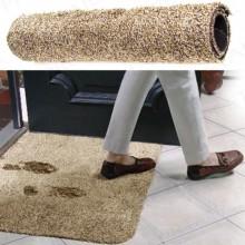 Придверный коврик из микрофибры Clean Step Mat Супервпитывающий