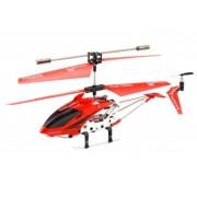 Вертолет на радиоуправлении Model King металлический корпус 23см Красный