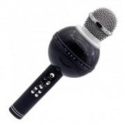 Беспроводной караоке микрофон-колонка Wster WS-878 Original Black