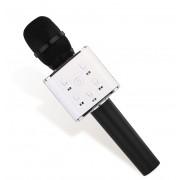 Беспроводной караоке микрофон GTM с динамиками в чехле Bluetooth USB Q7 Black