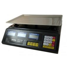 Весы торговые электронные настольные до 40 кг Cryst-al (328478001)