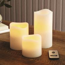 Светодиодные свечи LED Scented Candles с ароматом лаванды