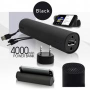 Powerbank, Колонка, Подставка для телефона Power Jam 3 в 1 Черный