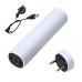 Портативный компактный Powerbank с аудио колонкой Power Jam 3 в 1 Белый