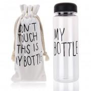 Бутылка для воды My Bottle в чехле Black