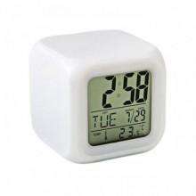Часы будильник хамелеон MoodiCare с термометром
