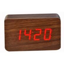 Настольные часы VST-863-1 Красная подсветка
