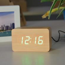 Настольные часы VST-863-5 Светло коричневые