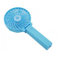 Портативный ручной вентилятор Memos handy mini fan голубой