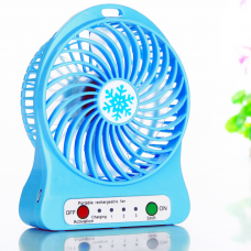 Мини-вентилятор Portable Fan Mini Голубой