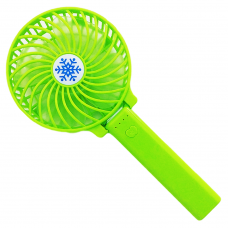 Портативный ручной вентилятор Memos handy mini fan Зеленый