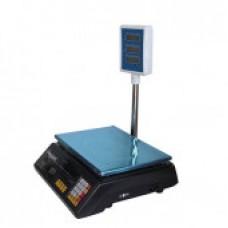 Весы торговые электронные со стойкой до 40 кг Alfa со счетчиком цены (328478002)