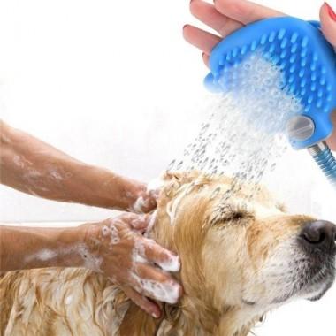 Перчатка для мойки животных, Щетка для купания собак Aquapaw Plus
